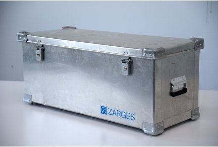 Zarges Transport Box mit Rollen